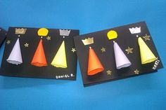 Educació i les TIC: 10 corones creatives per celebrar l'arribada dels Reis Mags Christmas Albums, Christmas Art, Winter Christmas, Diy Crafts To Do, Xmas Crafts, Crafts For Kids, Epiphany Crafts, Religious Christmas Cards, Bible School Crafts