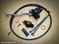 Bevel Heaven Hydraulic Clutch Conversion Kits for bevel drive Ducati twins.  Decrease lever pull by 40% with this kit.