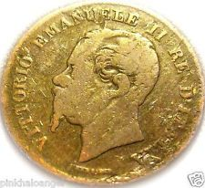 Kingdom of Italy - Italian 1861M 5 Centesimi Coin -  Vittorio Emanuele II