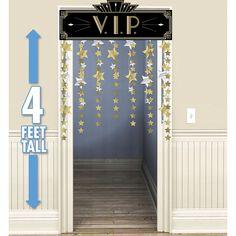 """5 feet Oscars Grammy HOLLYWOOD VIP STAGE DOOR  30/""""x 60/"""" door//wall Panel Birthday"""