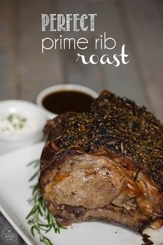 Perfect Prime Rib Roast should be served for dinner this holiday season. Want to know how to cook a prime rib roast? This is the best prime rib recipe!