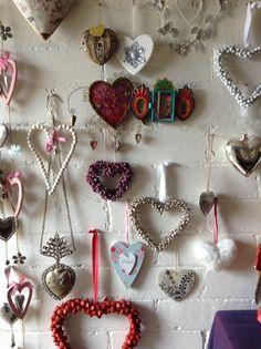 My wall of hearts
