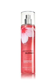 Japanese Cherry Blossom - Diamond Shimmer Mist - Signature Collection - Bath & Body Works - Dazzle with Diamonds! Infused with real diamond dust, our luxurious Diamond Shimmer Mist kisses skin with irresistible fragrance and gorgeous sparkle.