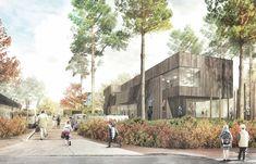1. Preis: 1.Preis, Perspektive, © KiS Architektur mit rabe landschaften | landschaftsarchitektur. stadt- und raumforschung