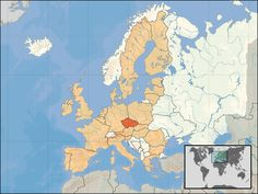 """The Czech Republic is called ,,heart of Europe"""""""