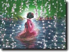 The Blossom Stage   A Christian Painting by Akiane