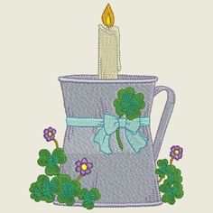 Decorative candle no 6