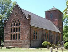 St. Luke's Church, built during the 17th century near Smithfield, Virginia. It is the oldest Anglican church building to have survived largely intact in North America.