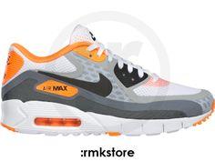 Nike Air Max 90 BR Breeze White Grey Laser Orange