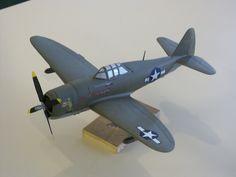 "P-47D ""Thunder Bolt"" ""Razorback"""