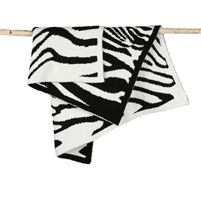 Barefoot Dream's Zebra Receiving Blanket is made with their signature CozyChic material in a wild zebra print.  Inspired by the Leopard Throw made special for the Kardashian's, this baby blanket would make a fun addition for your little one.  The super soft CozyChic fabric will keep you comfortably cozy in warm and cool temperatures.  The luxuriously soft chenille is machine washable, and only gets softer with each wash.