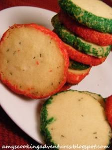 Rosemary Butter Cookies. Sounds weird, is actually very good.