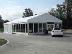 Audi Fahrzeugvorstellung mit Stampfer Zelte
