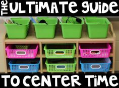 """This is """"Ultimate Guide to Center Time.pdf - Adobe Acrobat Reader DC AM"""" by Tara West on Vimeo, the home for high quality videos and… Kindergarten Center Rotation, Kindergarten Centers, Kindergarten Classroom, Learning Centers, Preschool Learning, Classroom Crafts, Classroom Organization, Classroom Management, Classroom Setup"""