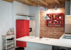 Кухня: скандинавский лофт в Киеве