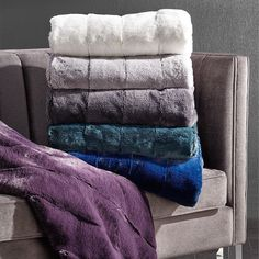 """Delightfully one-of-a-kind gifts make everyone smile. Cozy up with gifts of Faux Fur, in every shade of """"you deserve this"""". Link in bio to see all throws! Bedroom Cushions, Instagram Shop, Faux Fur, Sweet Home, Towel, Cozy, Interior Design, Gifts, Shopping"""