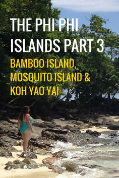 The Phi Phi Islands, Thailand, Part 3 - Bamboo Island, Mosquito Island and on the way back, a visit to Koh Yao Yai