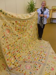 """Supergoof Quilts """"quilt made sure to measure"""""""