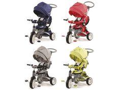 Giro 6 in 1 by Baby's Clan è disponibile in 4 bellissimi colori moda...scegli il tuo stile!