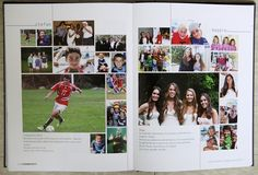 Starting with the 2012 edition of the Stagecoach, Rye High School's award-winning yearbook, staff members worked with families to create seamless templated ads celebrating graduating seniors. The result is a more unified book, where the ads don't look like ads.