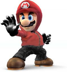 Super Mario Gangster Trained In Japan To Be a Hooded Samurai