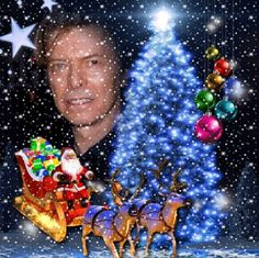 enhance your photos with kimi templates - David Bowie Christmas