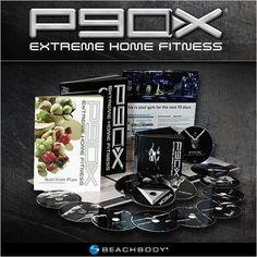 P90X is a revolutionary system of 12 highly intense workouts, designed to transform your body.   * Chest and Back  * Plyometrics  * Shoulders and Arms  * Yoga X  * Legs and Back  * Kenpo X  * X Stretch  * Core Synergistics  * Chest, Shoulders and Triceps  * Back and Biceps  * Ab Ripper X  * Cardio X  Extra DVD for a quick overview of the complete P90X Extreme Home Fitness training system is included.  To get you started, you will also receive a c... products-i-love