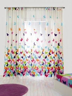 7 Lindas Dicas para customizar ou reformar suas cortinas Home Curtains, Kids Curtains, Modern Curtains, Colorful Curtains, Hanging Curtains, Home Office Decor, Diy Home Decor, Room Decor, Indian Home Decor