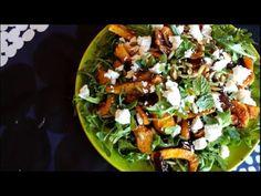 Roasted pumpkin radicchio and feta salad - Nigella Lawson For recipe go to my recipe index My Recipes, Salad Recipes, Nigella Lawson, Roast Pumpkin, Feta Salad, Vegetable Pizza, Salads, Vegetables, Food