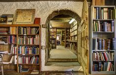 Baldwin's Book Barn - reminds me of Bilbo Baggins' house, except with books and not maps