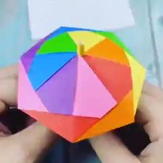 Origami Umbrella Step by Step, Visit my website for More - origami tutorial step by step easy, origami tutorial step by step videos, Origami Umbrella Step By Step, Origami Easy Step By Step, Easy Origami For Kids, Origami Umbrella Easy, Easy Origami Tutorial, Easy Origami Flower, Simple Origami, Paper Crafts Origami, Origami Art