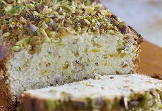 Pistachio Lemon Pound Cake on DiamondNuts.com #DiamondNuts