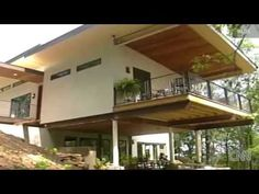CNN report on eco friendly sustainable hemp house built in Asheville, NC. Benefits include carbon negative construction, breathability, and reduced cost of heating and cooling.