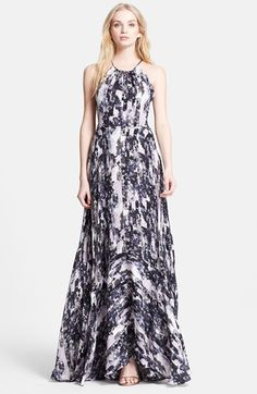 Parker+'Grady'+Print+Silk+Maxi+Dress+available+at+#Nordstrom