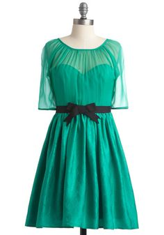 Jade for You Dress. Classy. Feminine. Flirty. Teal. Honestly, what more could you want?