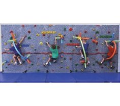 Traverse Wall Challenge Course for Traverse Climbing Wall from Everlast Climbing - OnlineSports.com