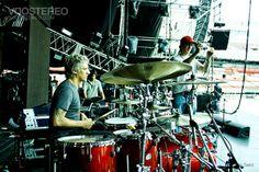 Charly Alberti y su batería..