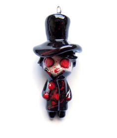 SALE  Jack the Ripper  Miniature Sculpture by WonderlandContraband, $20.00