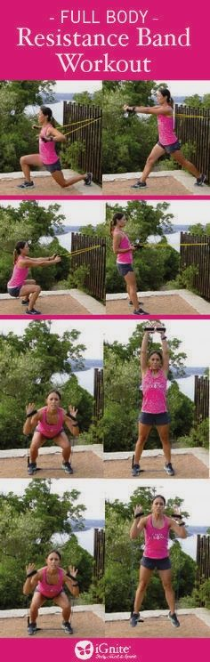 Resistance bands are an easy and convenient way to get a great full-body workout whether you're in the gym, outdoors, at home or traveling. | Posted By: NewHowToLoseBellyFat.com