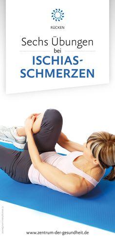 Bestimmte Übungen können dabei helfen, den Rücken so zu stärken, dass der Ischias keine Schmerzen mehr bereiten kann. #gesundheit #rücken #ischias