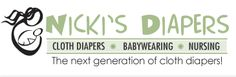 Nicki's Diapers - Cloth Diapers * Babywearing * Nursing - The next generation of cloth diapers!