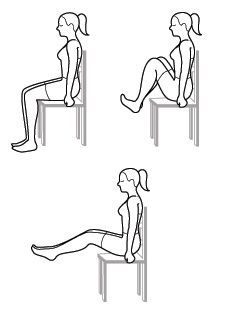 Seated Leg Raise This highly-efficient exercise works the entire abdominal… Leg Raise Exercise, Office Exercise, Office Workouts, Desk Workout, Workout At Work, Chair Exercises, Back Exercises, Leg Raises Abs, Strength Workout