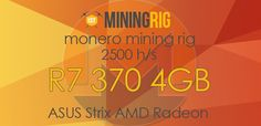 shares In my previous tutorial i explained how to mine Monero (XMR) with CPU & GPU, this is good to mine with your personal PC or with a Monero mining rig. Now, in this second tutorial about (XMR) Monero mining i will be using my 6x R7 370 rig and as always i will be …