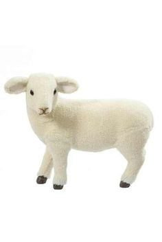 Faux Fleece Standing Sheep