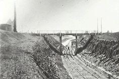 Kurrajong railway crossing the Hawkesbury River at North Richmond