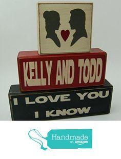 Personalized Couples Names-I Love You I Know Star Wars-Han Solo-Princess Leia-Wedding-Bridal Shower-Birthday Home Decor Primitive Wood Sign Stacking Blocks from Blocks Upon A Shelf http://www.amazon.com/dp/B01BFN7DN2/ref=hnd_sw_r_pi_dp_gdHrxb0D9D03J #handmadeatamazon