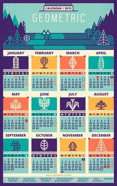 Elige un calendario para 2015   Singular Graphic Design