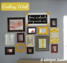 A Glimpse Inside: Gallery Wall Reveal