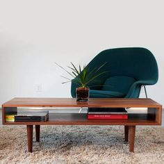 Classic Coffee Table by Eastvold Furniture – Forage Modern Workshop