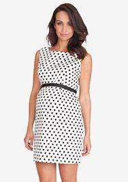 Polka Dot Kleid aus der Kategorie Kleider Kurzarm von Mamarella